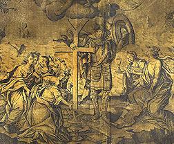 Галяховський Д. Фрагмент гравюри «Апофеоз Мазепи», 1708.