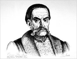 Лопата В. Портрет Івана Мазепи, 1991 р.