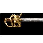 Офіцерський драгунський палаш. Данія, початок XVIII ст.